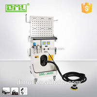 Mobile dust control collector dry grinding system for vacuum cleaner