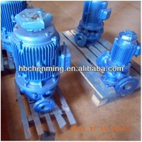 ISG type high output electric water pumps