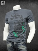 100% Peruvian pima cotton t shirt certified cool style