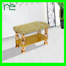 Double floor glass mid-east coffee table (factory manufacturer)