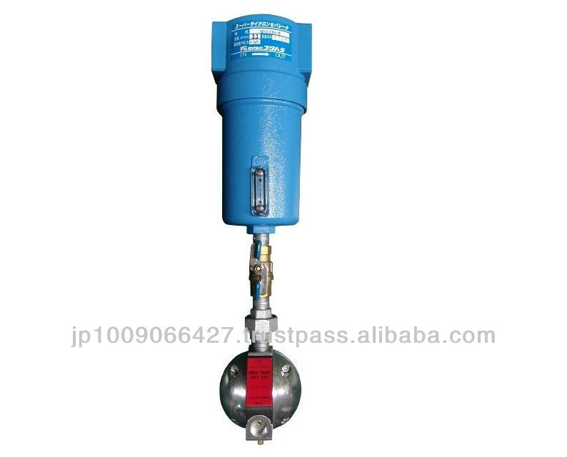 Compressed air filter- Super Cyclone Separator air filter air conditioning tools