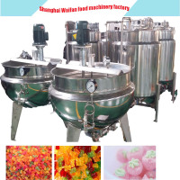 Candy making machine price/Soft candy production line/soft candy sweet making machine