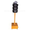 Sun battery solar led traffic light
