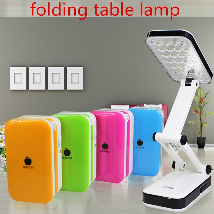 GG-666 iphone lamp rechargeable led folding table lamp