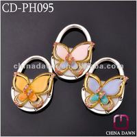 2012 Newest Butterfly Bag Hanger with stones