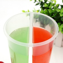 Eco-friendly 750ml leakproof plastic cup for juice