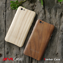 [DEVILCASE] Beautiful Wood Grain 100% Wooden Cellular Phone Bumper Hard Case for iPhone 6 6s Smart Hand Phone