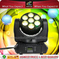 Professional 7 x 12w 4in1 rgbw mini beam Wash led moving head