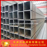 square steel tube/pipe galvanized both side,tube8 japanese