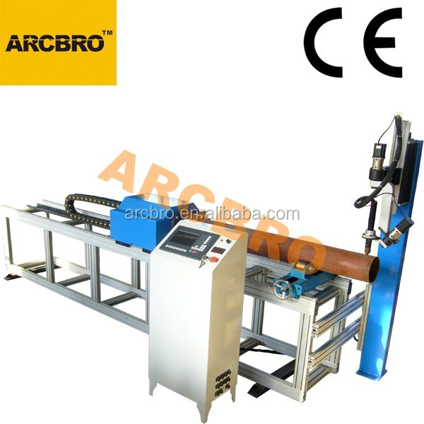 CNC flame steel pipe cutting machine for agriculture equipment fabrication Tube-S