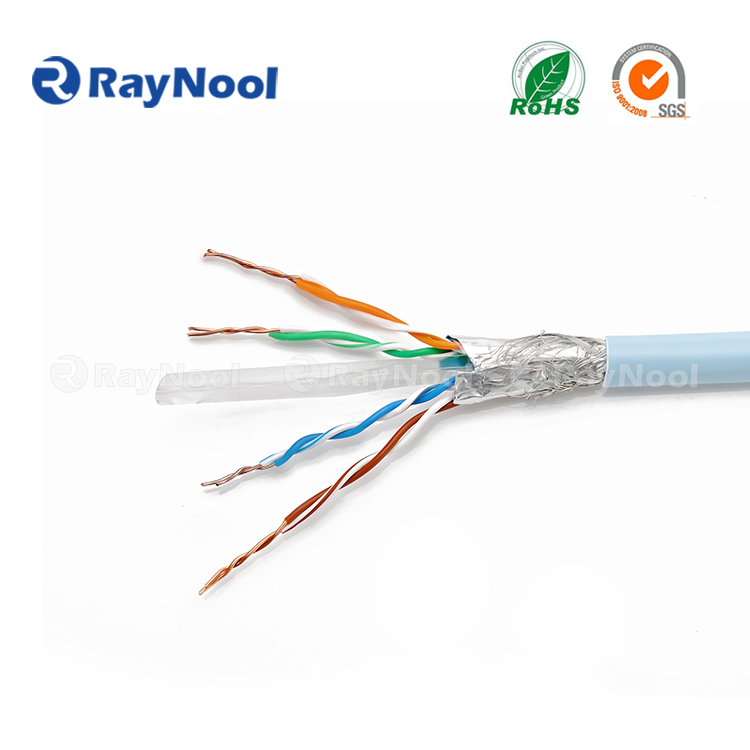 CAT6A S/UTP network RJ45 cable Lan 23awg cable cat6a patch cord china manufacturer