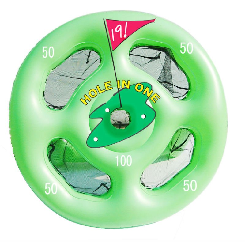 inflatable pitching target/inflatable game/kids toy