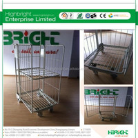full security nesting a frame supermarket roll cage