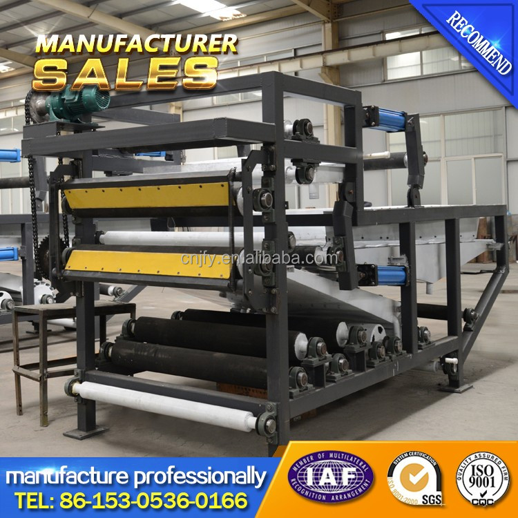 Sewage Sludge Dewatering Machine DYL Belt filter press/Filter for paper making