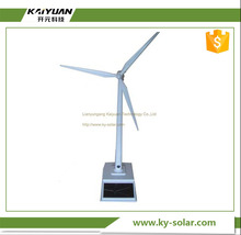 New Style Teaching use plastic windmill toy mini solar windmill model