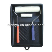 Fiber roller and brush paint tray set - 501A High-class 5 in 1