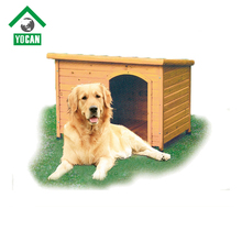 cheap stocked wood dog house with balcony