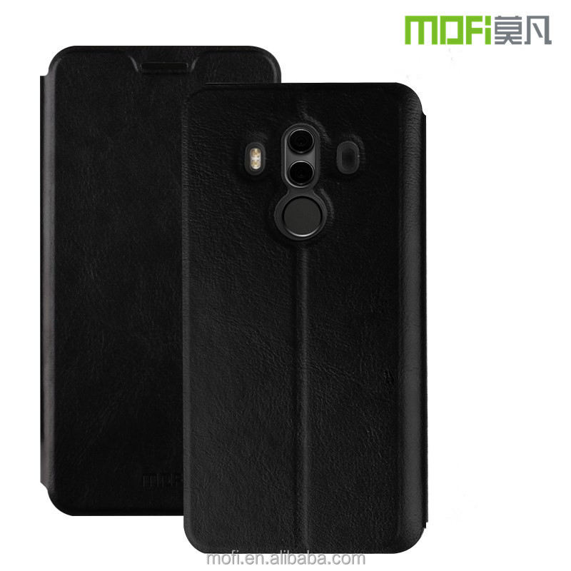 For Huawei Mate <strong>10</strong> Pro Leather Case MOFi Magnetic Flip Case For Huawei Mate <strong>10</strong> Pro
