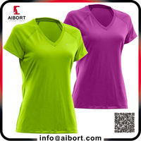 Dry fit and slim fit sports Women's t-shirt