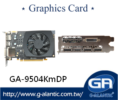 GA-9504KmDP - NVIDIA GeForce GTX 950 external graphics card for laptop