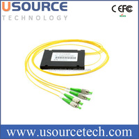 2.0mm 3.0mm dual window Equal coupling 1x3 single mode fiber optical FBT splitter from China supplier