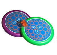 EVA sport mini disk set,EVA foam outside flying toy