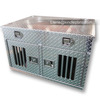 Manufacturer wholesale diamond plate aluminum large cage dog run kennels