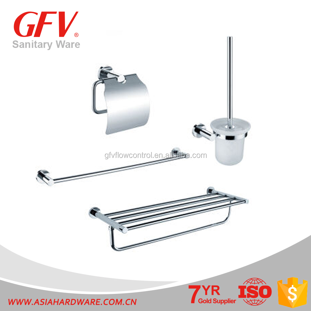 GFV-<strong>G08</strong> Hot sale brass chrome bathroom accessories