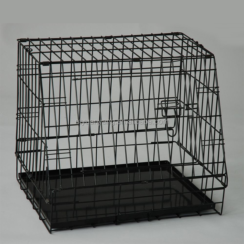 Professional outdoor metal pet cage crate