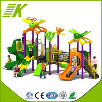 2015 New Style cheap Children Outdoor Playground Slide Equipment/Outdoor Playground Equipment-amusement Park Plastic Slide
