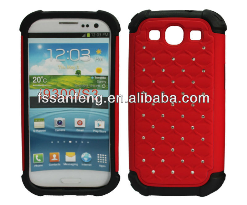 For Samsung s4 fascinate case, silicon flip cover for Samsung s3