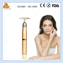 Fast Facial slimming 24k gold beauty salon bar facial tool with CE,Rohs