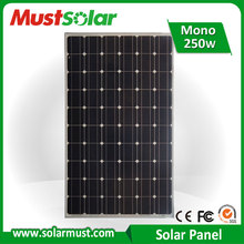 Competitive Price 250W Photovoltaic Solar Panel for Solar Power System
