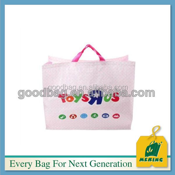 New design grocery shopping bag standard size cotton tote bag