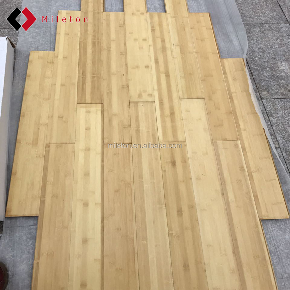 CE Certified parket flooring manufacturer Cheap indoor click bamboo flooring
