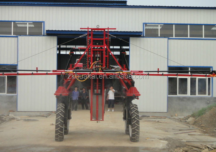 zkhk self propelled high clearance agricultural boom sprayer