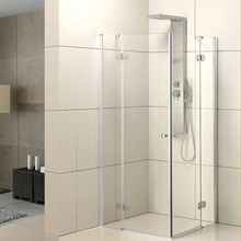 China Alibaba Wholesale Sanitary Ware Corner Entry Walk In Enclosed Shower Room