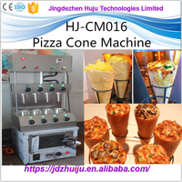 2016 quick meal good performance pizza cone oven production line/automatic pizza cone making machine