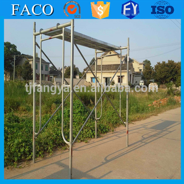 many size good rust resistance stable scaffolding narrow scaffold