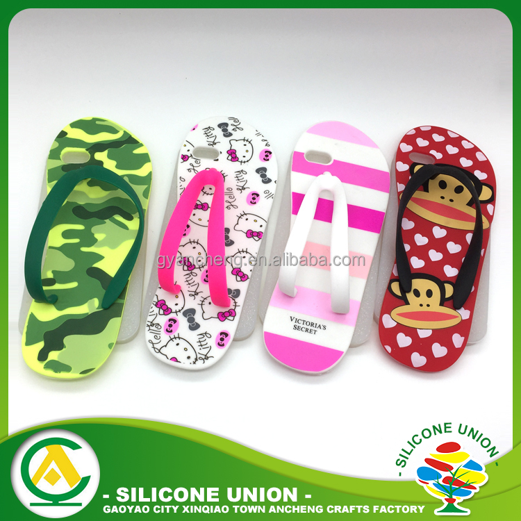 Wholesale cute girl silicone mobile phone case