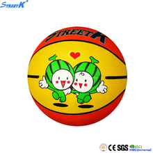 small rubber bouncy balls hot sale basketball kids toy ball