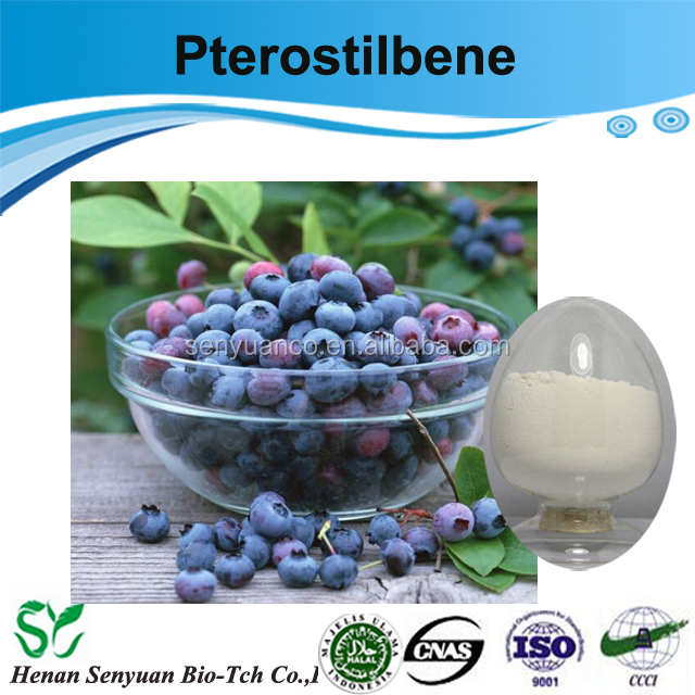 Top quality and factory price Pterostilbene 99% ,CAS No:537-42-8 pterostilbene powder