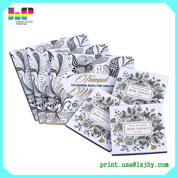Shenzhen colouring secret garden adult and children drawing coloring book printing