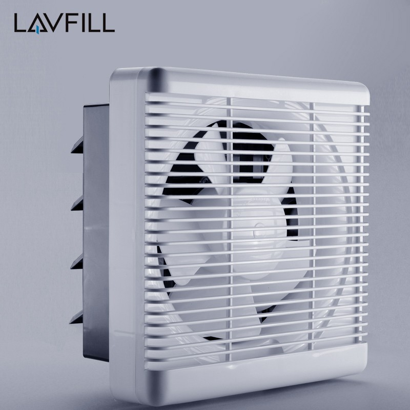 KDK Air Suction Fan Air Flow Extractor Fans Automatic Ventilation Louvers