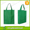 100gsm non woven tote bag/polypropylene shopping bags/single color tnt non-woven bag bear loading 10KG