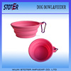 2014 hot sale eco-friendly colorful silicon pet bowl