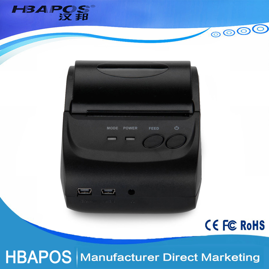HBA-5802 2 inch portable Android Handheld Bluetooth Thermal Printer