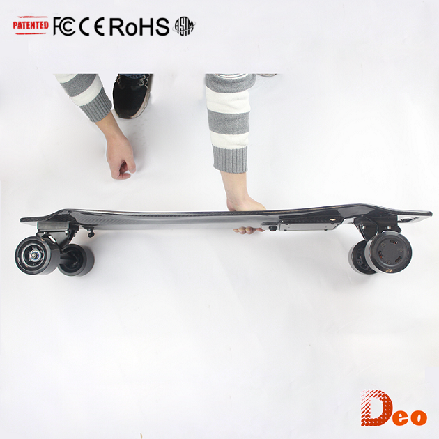 DIY Electric Skateboard Easily Turning Four Wheel E-boards with Electrick Booster