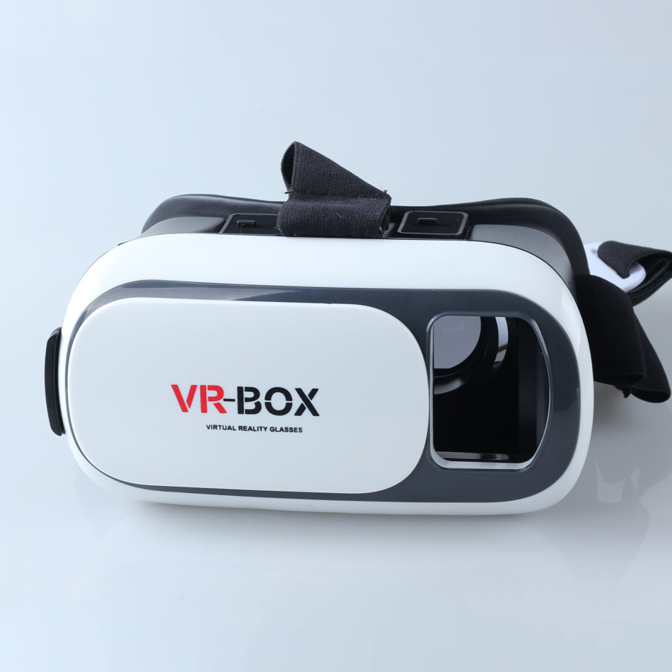 high quality Plastic Version Virtual Reality Video 3D Glasses Google Cardboard custom logo and brand