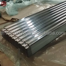 Zinc Coated Corrugated Metal Roofing Sheet